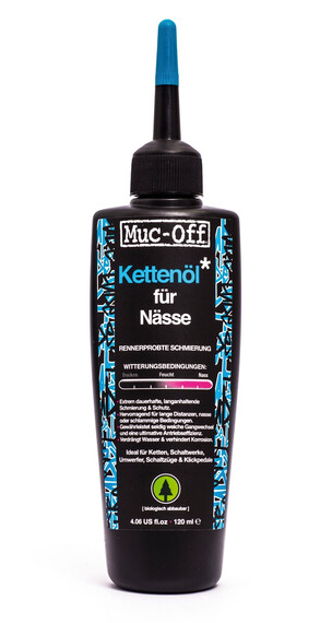 Muc-Off Wet Lube Kettenöl für Nässe 120 ml